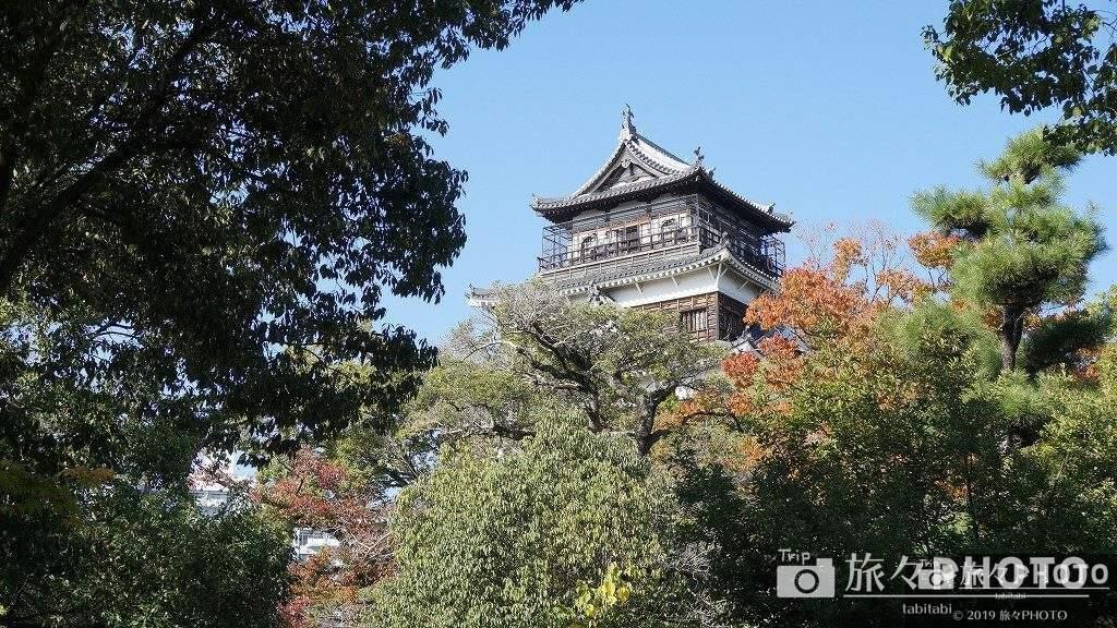 広島城の外観