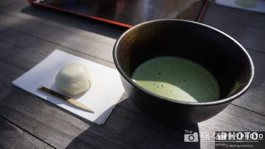 広島縮景園のお茶菓子