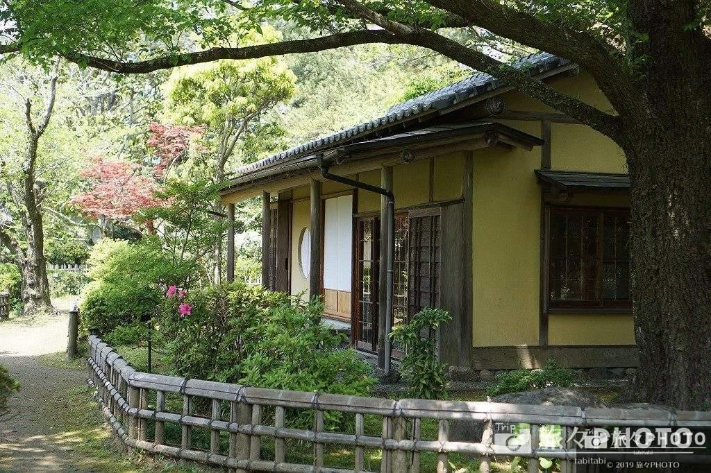 日向景修園の茶室
