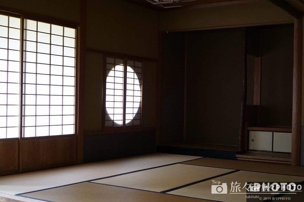 日向景修園の茶室部屋