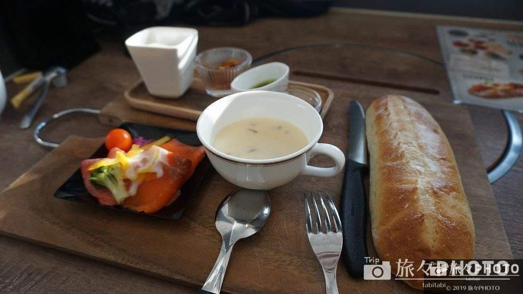 伊王島の朝食