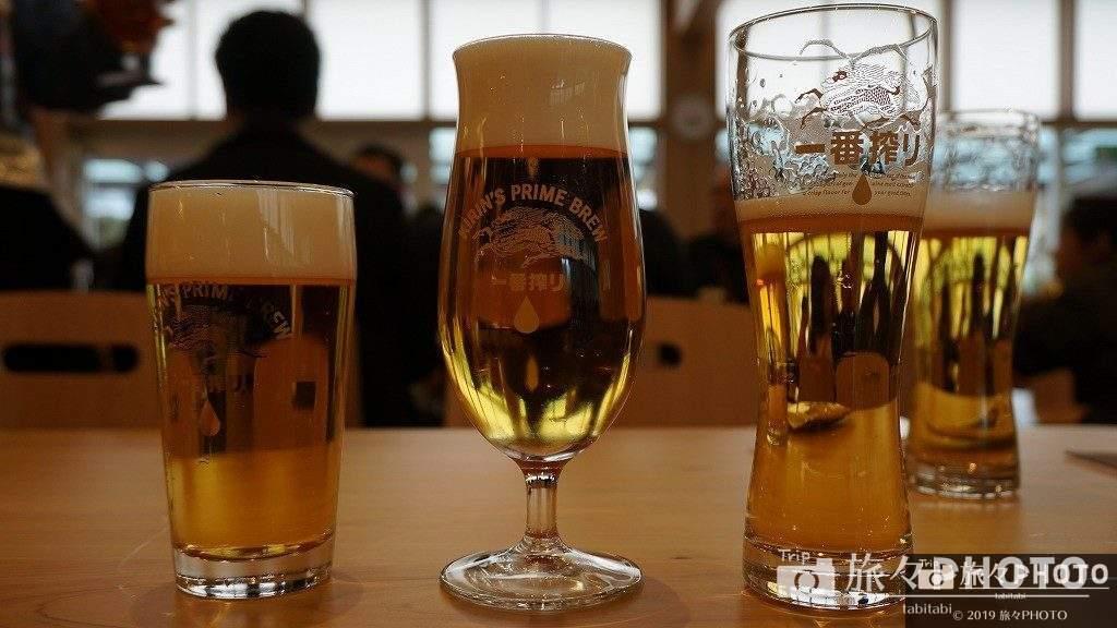 キリンビール工場試飲