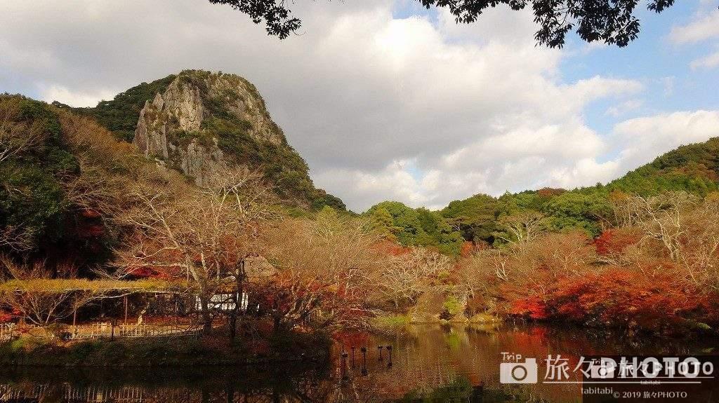 御船山楽園の紅葉(明るい時間)