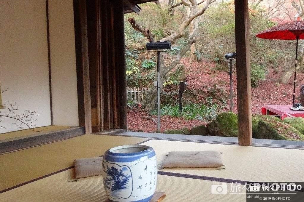 御船山楽園の茶室
