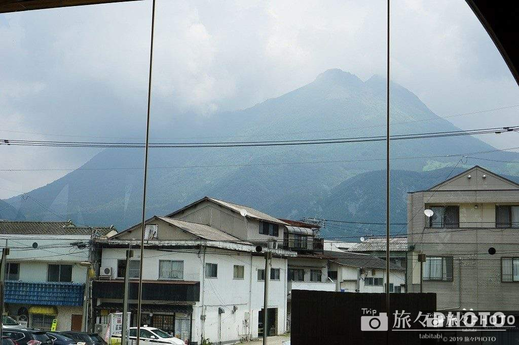 YUFUiNFOから見た由布岳