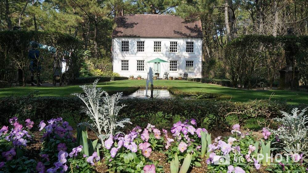 英国式庭園のフォーマルガーデン