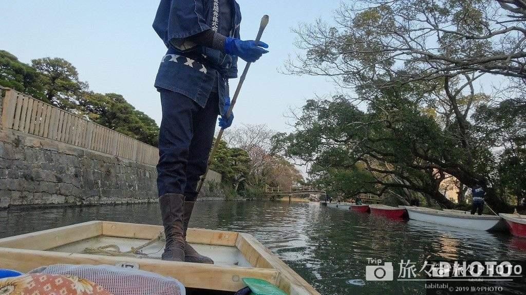 川内川下り船頭さん