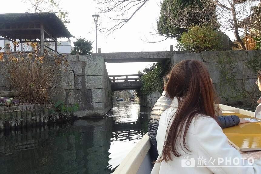 柳川川下り水門