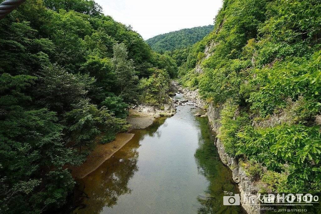 定山渓温泉 かっぱ淵