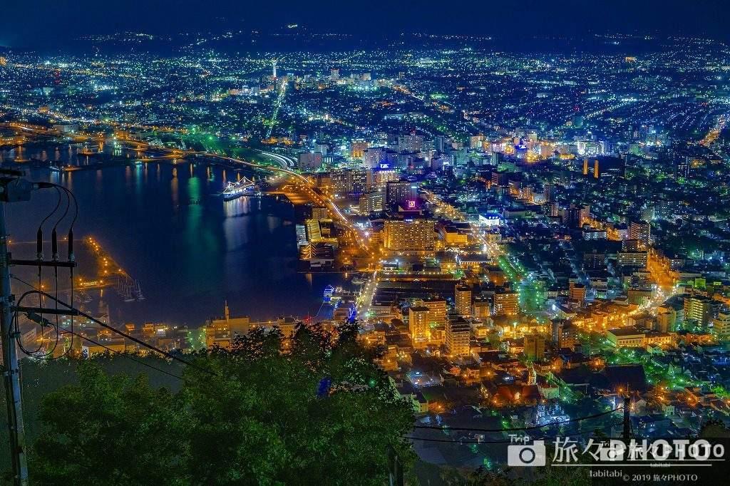 函館山展望台の夜景