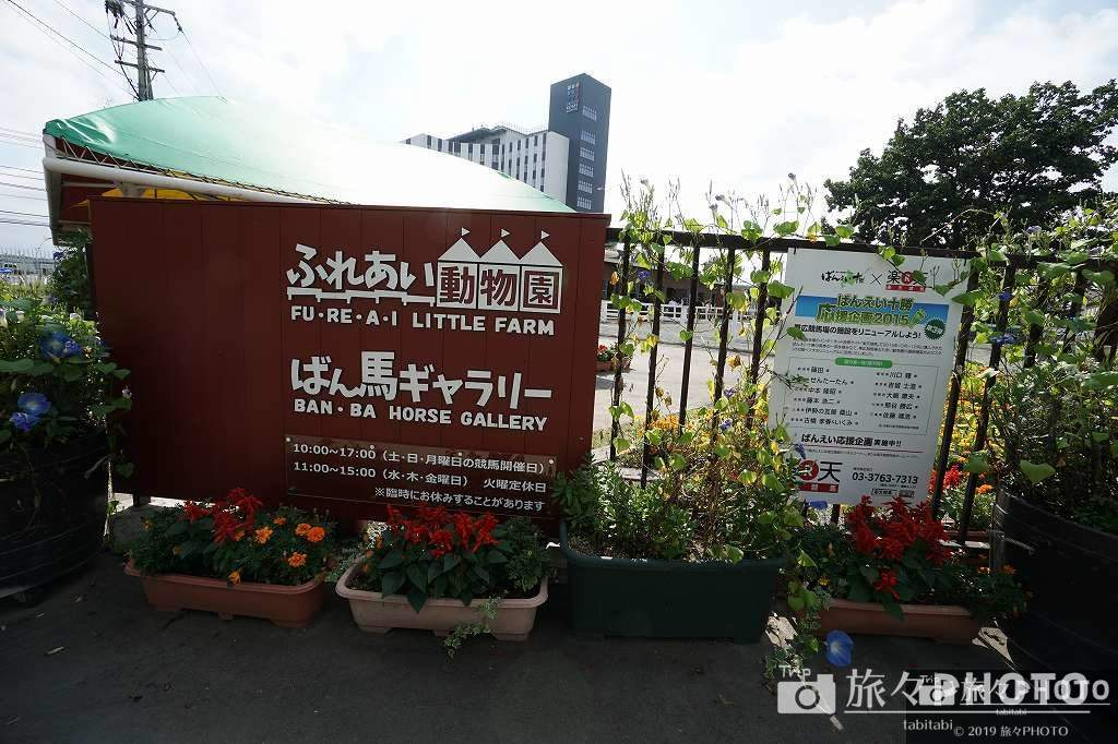 帯広競馬場ふれあい動物園