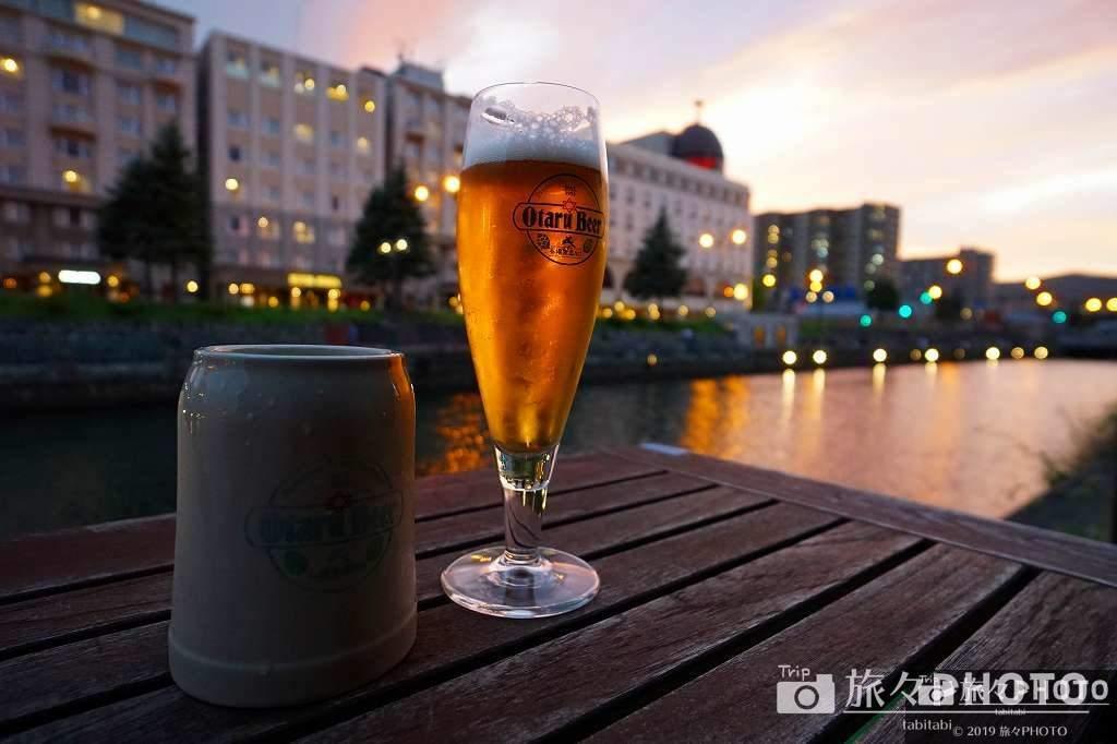 小樽ビール醸造所 小樽倉庫No.1 テラス席