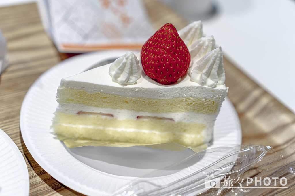 六花亭のショートケーキ
