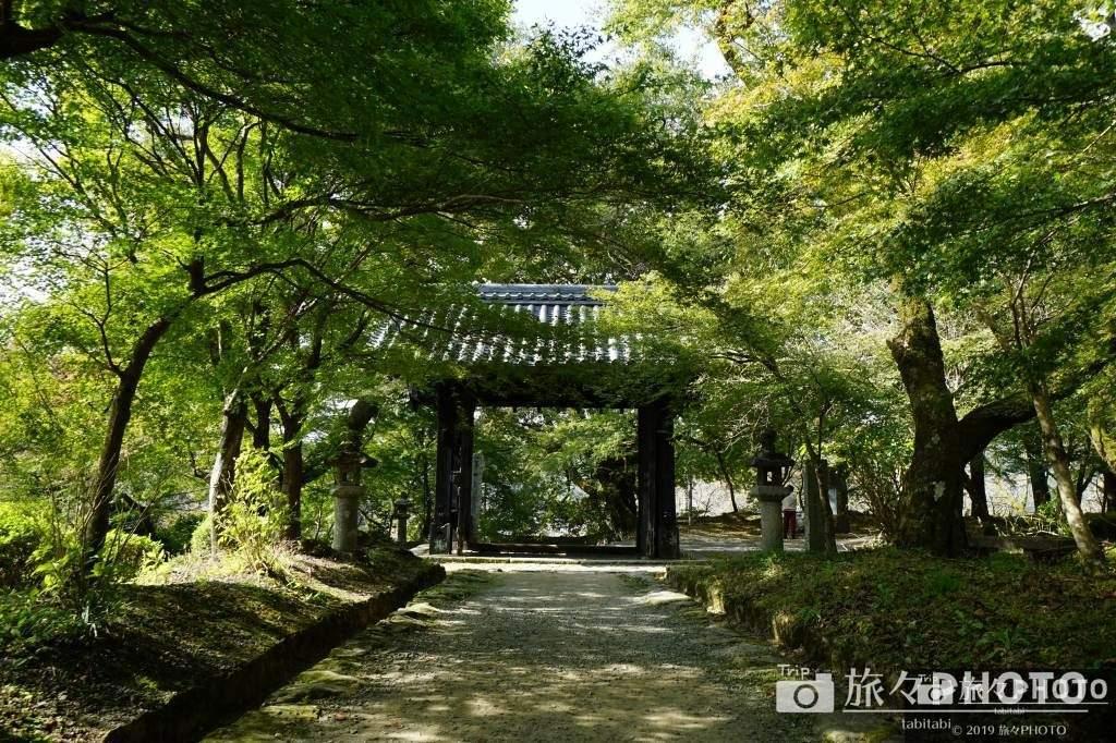 秋月城の黒門