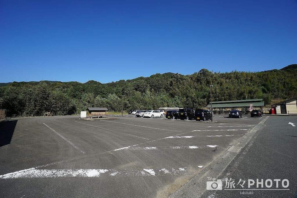 山茶花の湯 駐車場