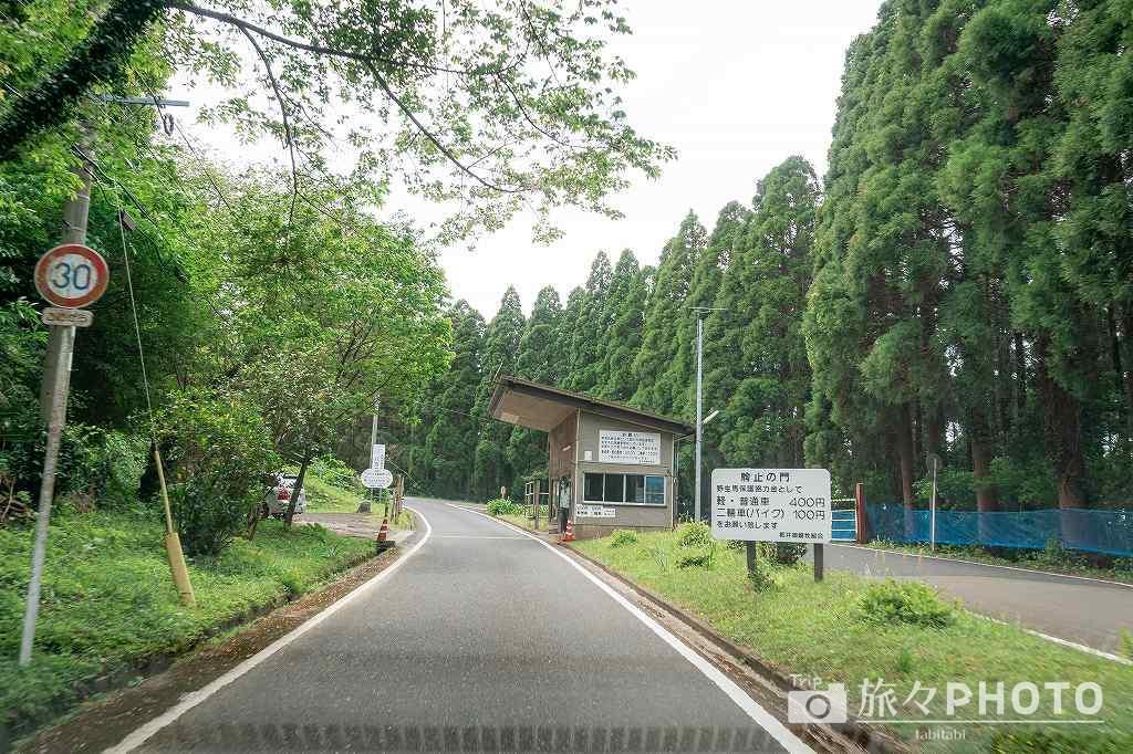 都井岬の入場の門「駒止の門」