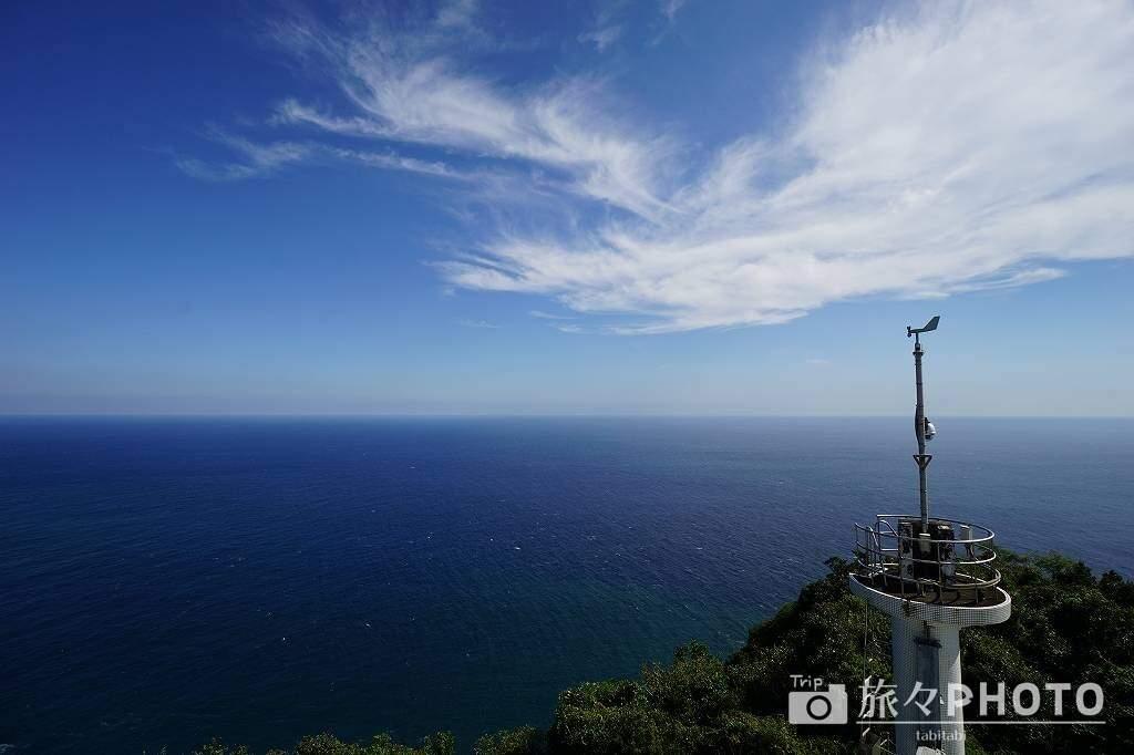 都井岬灯台からの景色