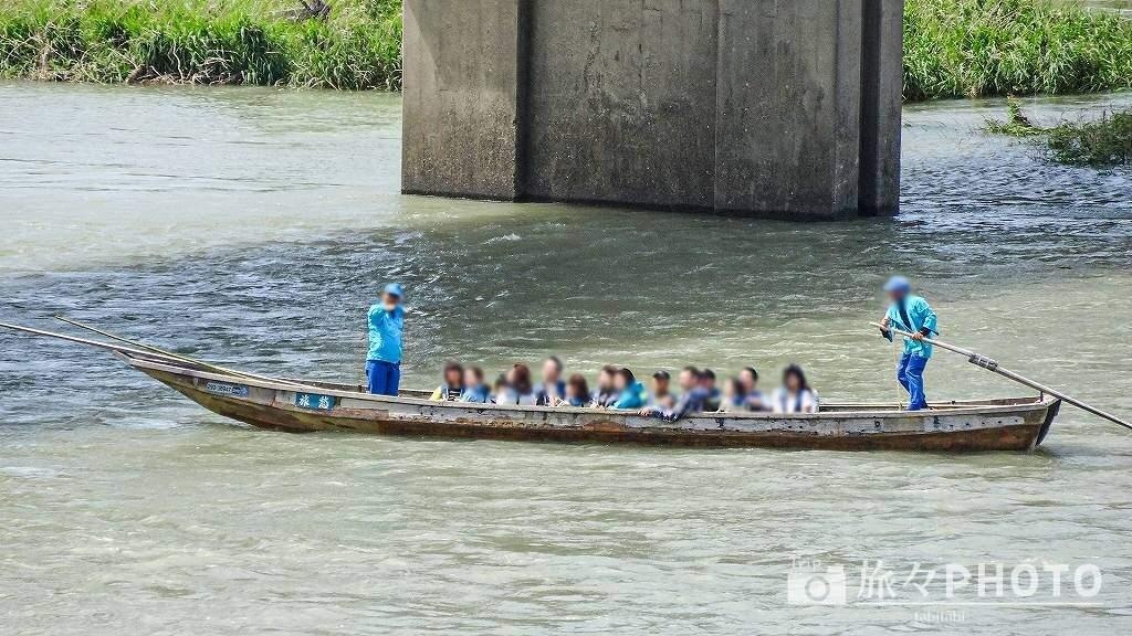球磨川の川下り
