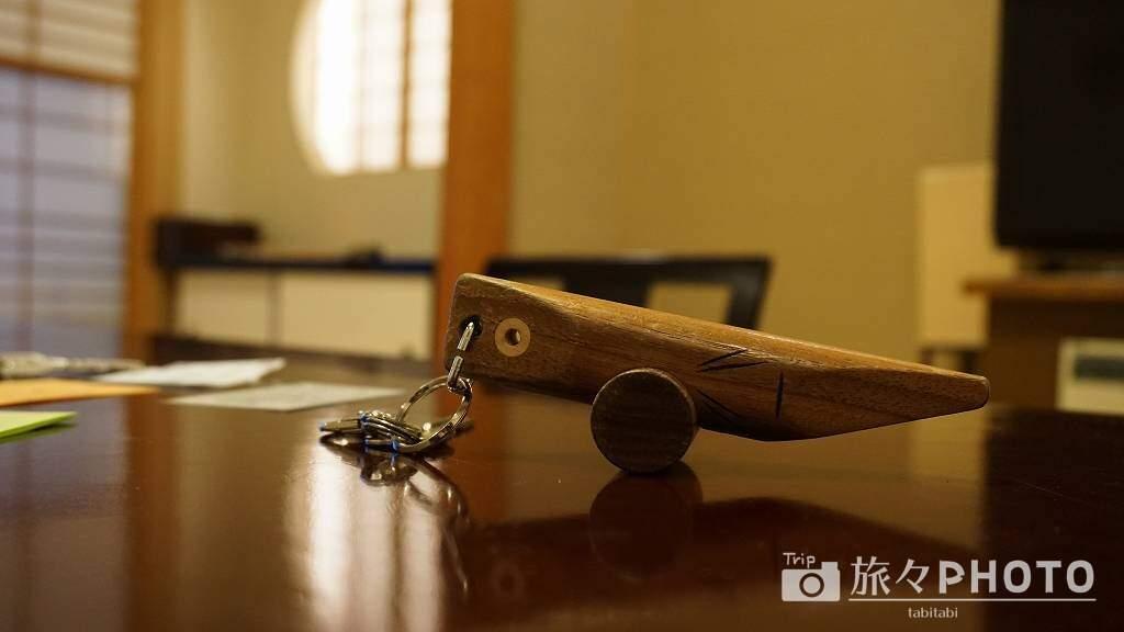 あゆの里 工芸品の鍵