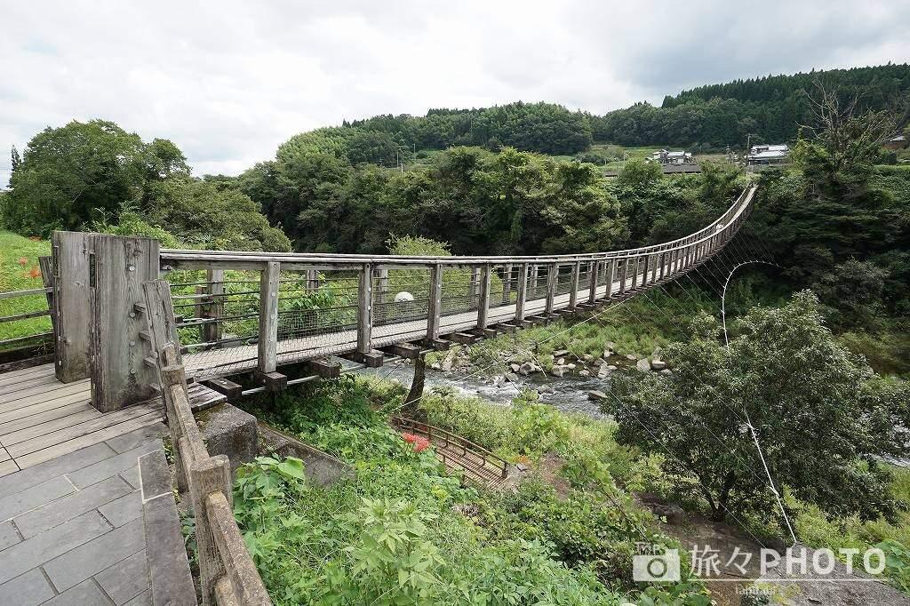 原尻の滝の橋