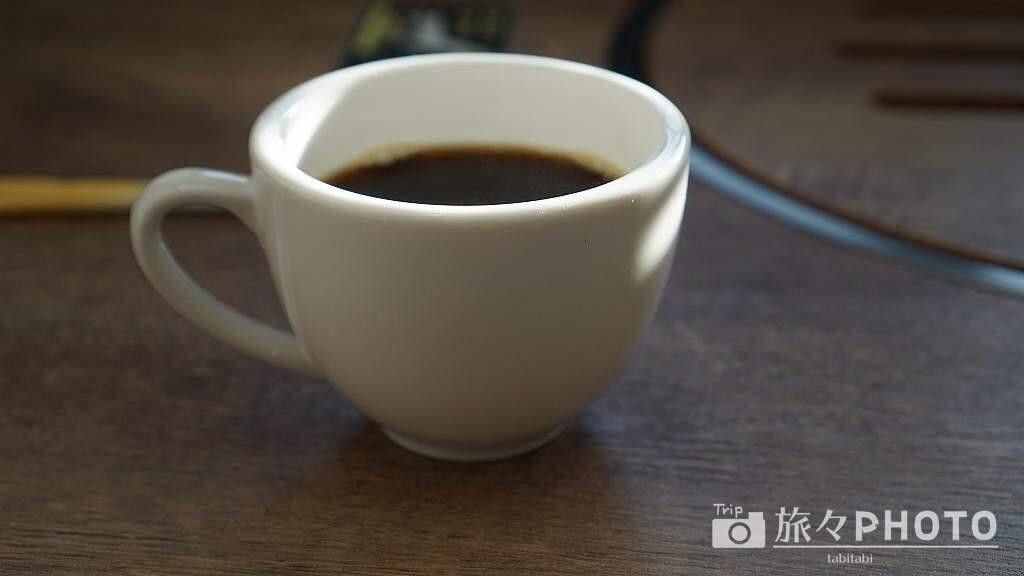 アイランド長崎の朝食後のコーヒー
