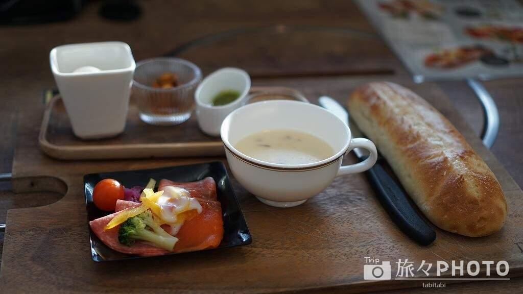 アイランド長崎の朝食