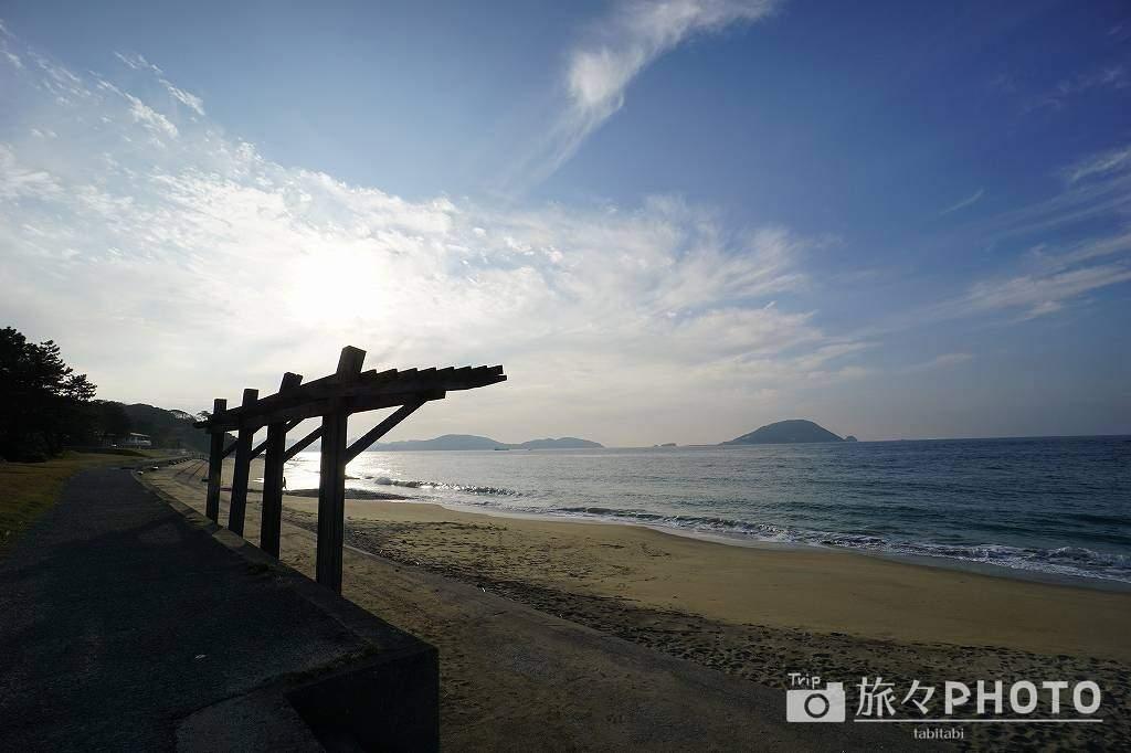 休暇村志賀島海水浴場