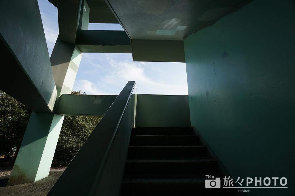 潮見公園の展望台