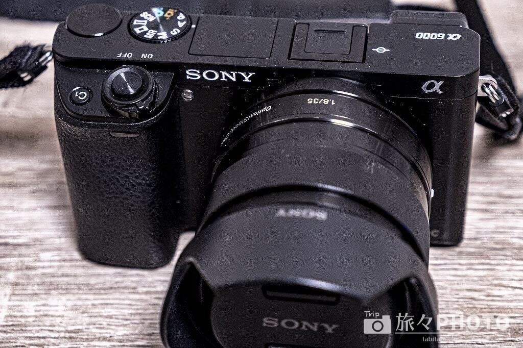 α6000と35mm単焦点レンズ