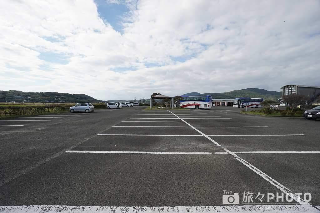 出水ツル観測センター 駐車場