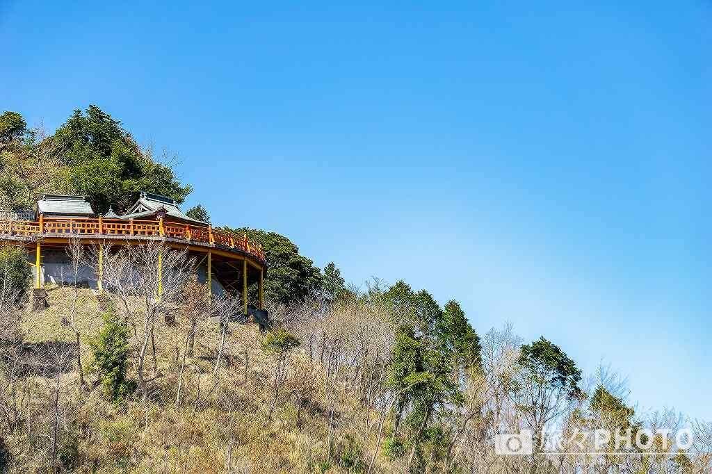 霞神社 展望台
