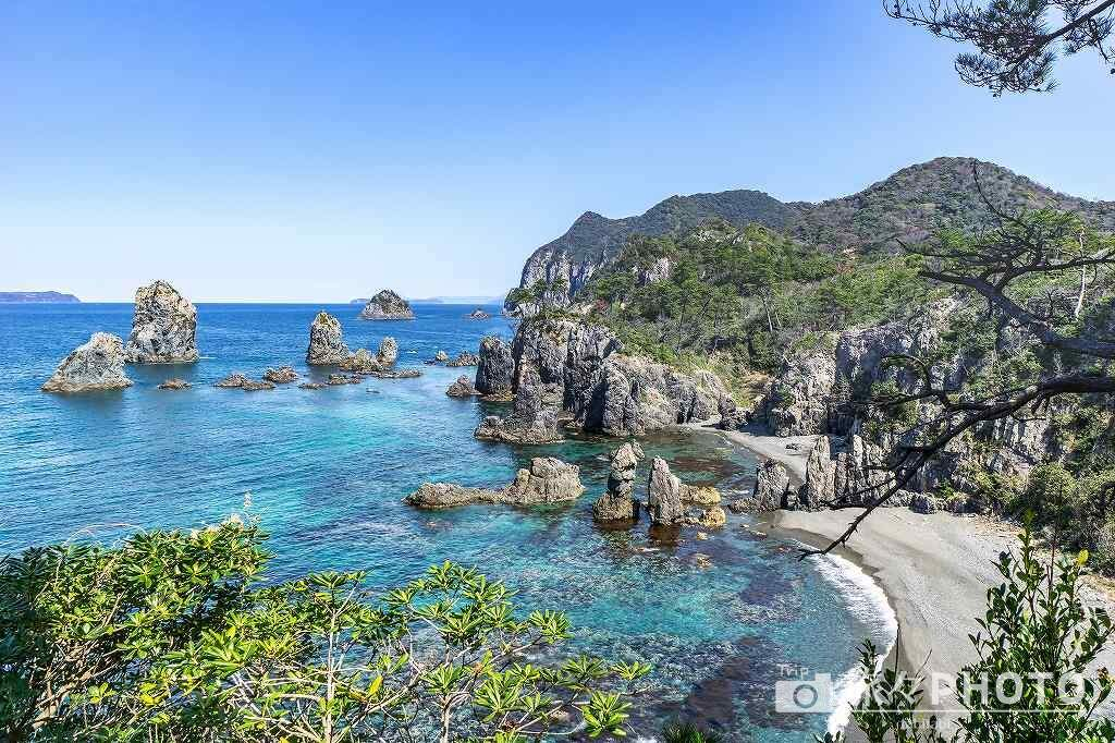 青海島 海上アルプス
