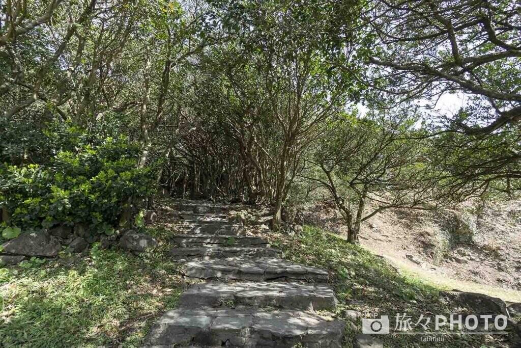 大御神社から龍宮への道の入口