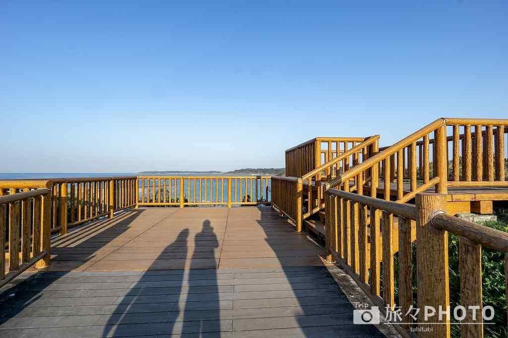 角島大橋の展望台