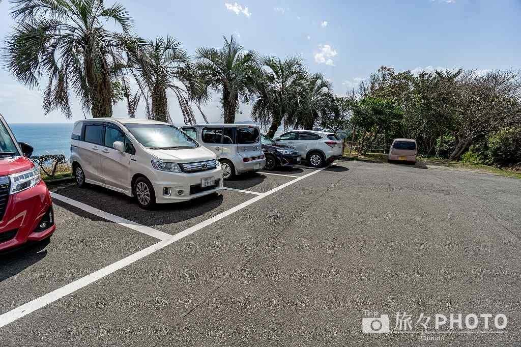 クルスの海の第1駐車場