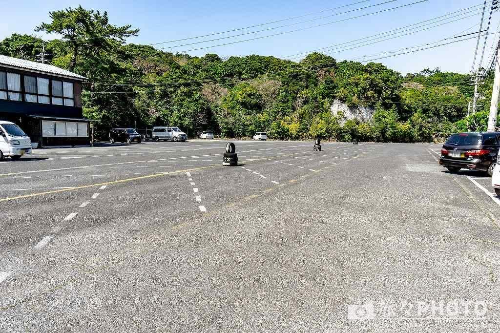 青海島駐車場