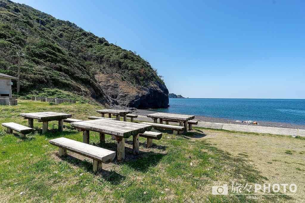 青海島キャンプ場