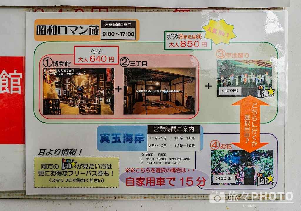 昭和の町チケット