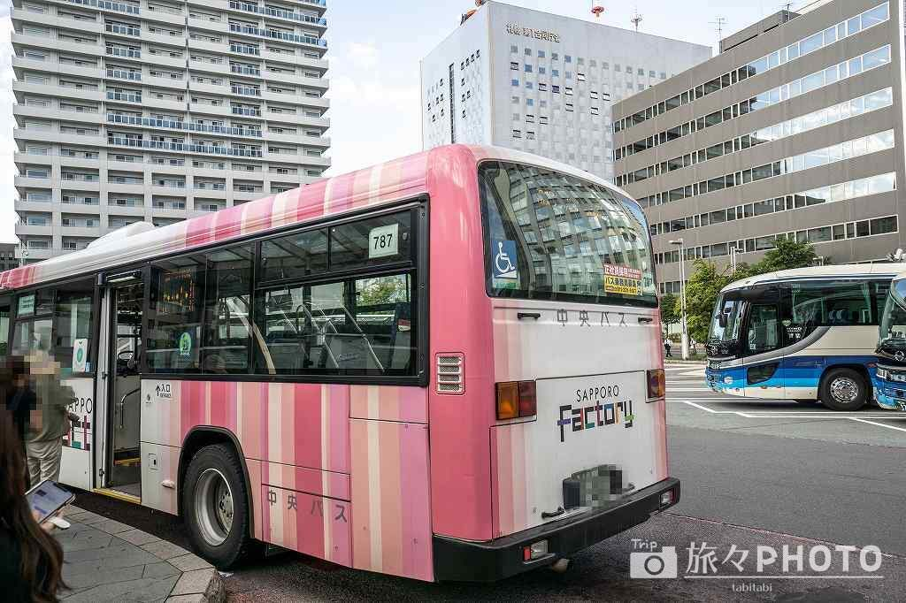 札幌駅から出るバス