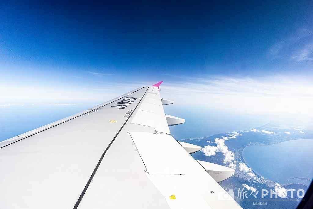 北海道旅行1日目 - 飛行機