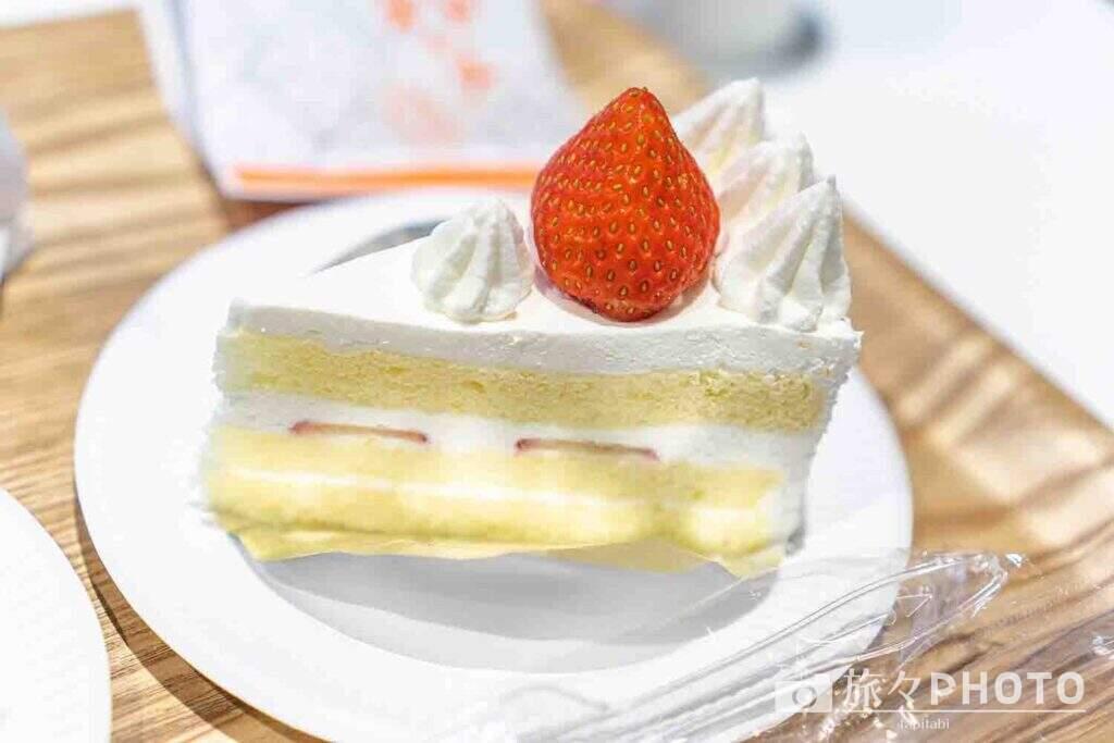 六花亭帯広本店ショートケーキ