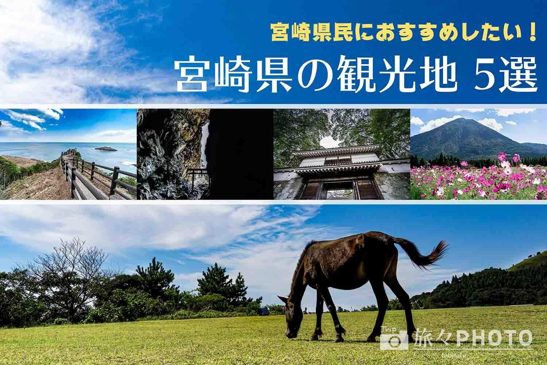 宮崎県民におすすめした宮崎の観光地アイキャッチ画像