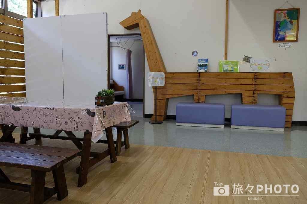 到津の森公園 休憩所