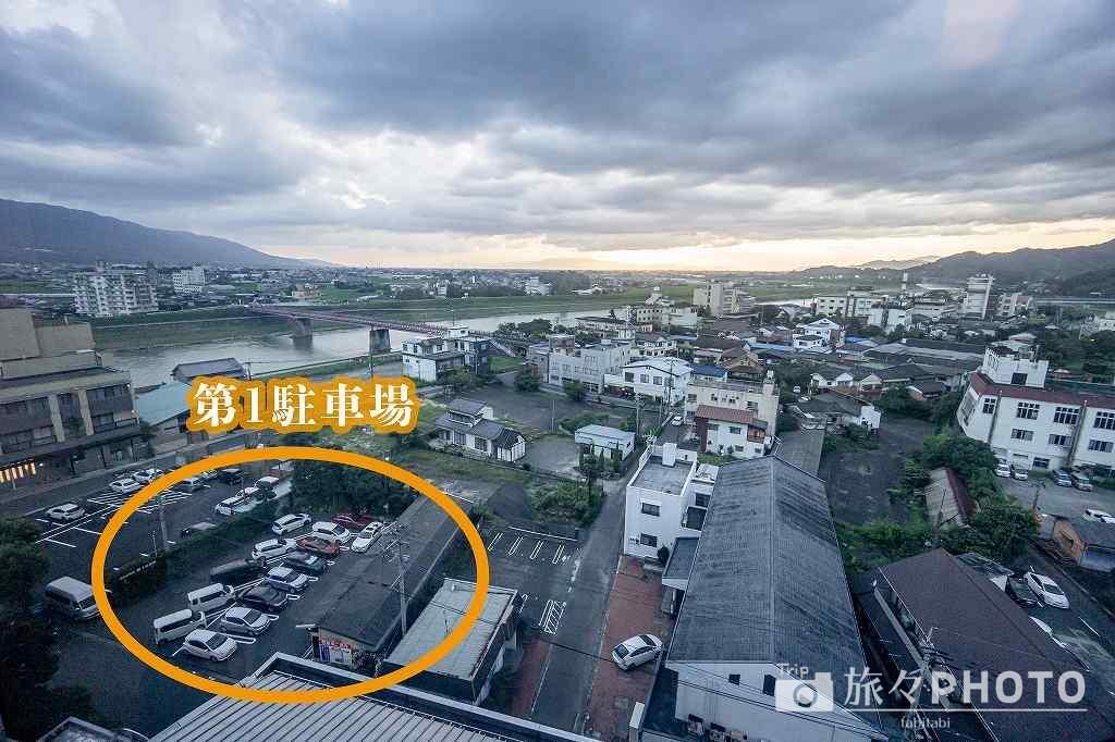 ホテルパーレンス小野屋 駐車場
