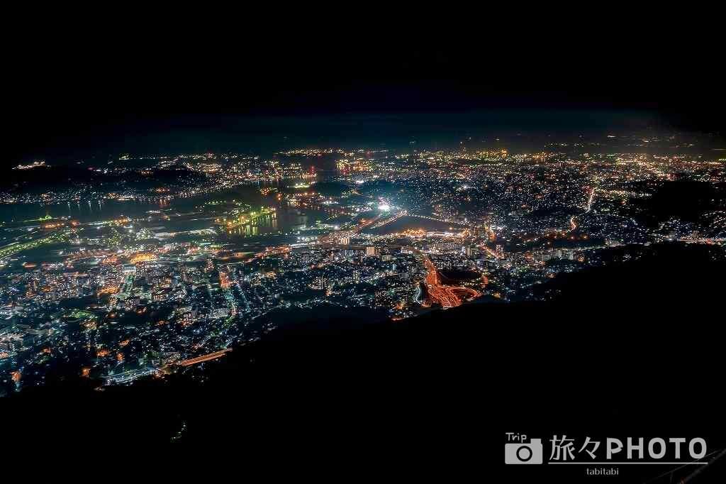 皿倉山からの夜景