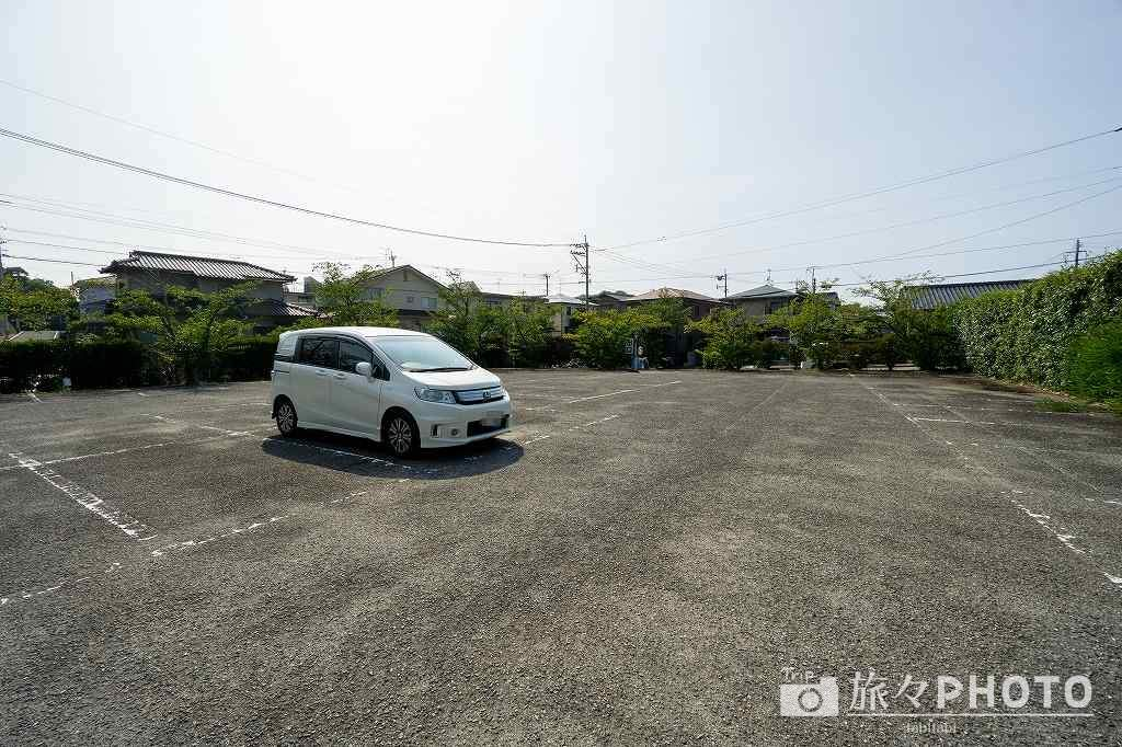 戸明神社 駐車場