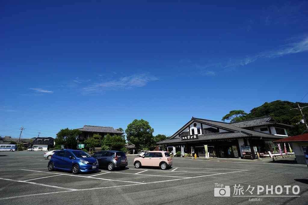 萩城跡駐車場