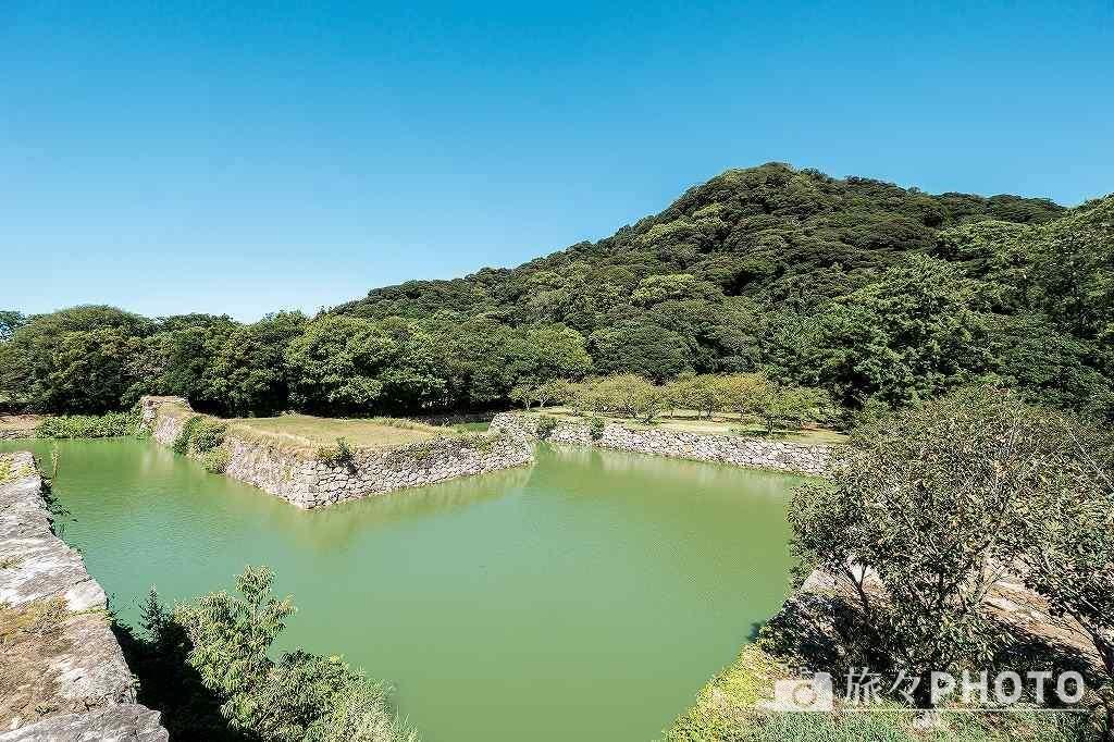 萩城跡 指月山