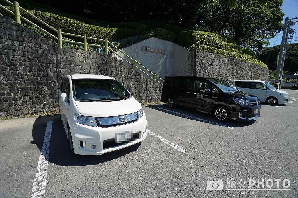 萩反射炉 駐車場