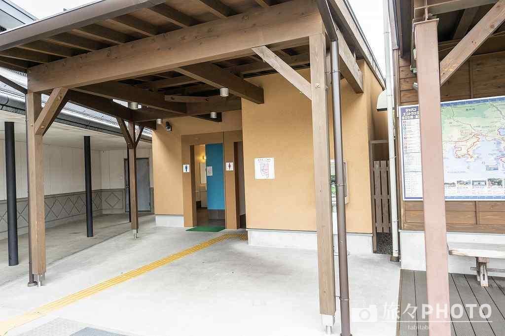 道の駅「浅井三姉妹の郷」トイレ